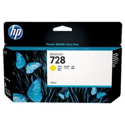 Тонер-картридж для лазерных аппаратов HP 728 для НР DJ Т730/Т830 130-ml YellowInkCart (F9J65A)Картриджи для струйных аппаратов HP<br><br>