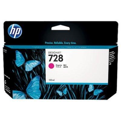 Тонер-картридж для лазерных аппаратов HP 728 для НР DJ Т730/Т830 130-ml Magenta InkCart (F9J66A)Картриджи для струйных аппаратов HP<br><br>