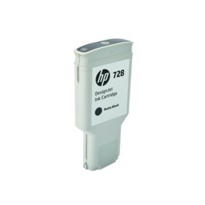 Тонер-картридж для лазерных аппаратов HP 728 для НР DJ Т730/Т830 300-ml MatteBlack InkCart (F9J68A)Картриджи для струйных аппаратов HP<br><br>