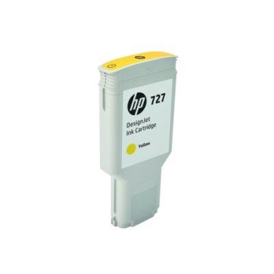 Картридж для струйных аппаратов HP 727 для НР DJ T920/T1500/2500/930/1530/2530 300-ml Yellow Ink Cart (F9J78A)Картриджи для струйных аппаратов HP<br><br>