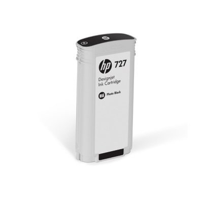 Тонер-картридж для лазерных аппаратов HP 727 для НР DJ T920/T1500/2500/930/1530/2530 300-ml Photo Black Ink Cart (F9J79A) картридж hp pigment ink cartridge 727 matte black b3p22a