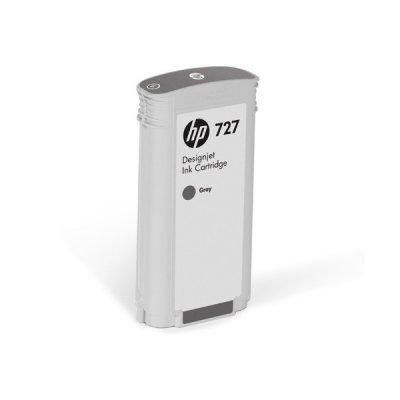 Картридж для струйных аппаратов HP 727 для НР DJ T920/T1500/2500/930/1530/2530 300-ml Gray Ink Cart (F9J80A)Картриджи для струйных аппаратов HP<br><br>
