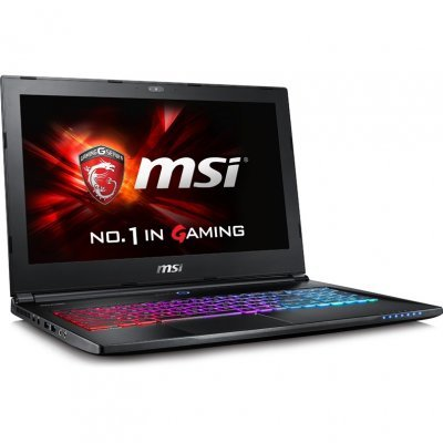 Ноутбук MSI GS60 6QD-245RU (9S7-16H822-245)Ноутбуки MSI<br>Ghost i5-6300HQ 16Gb 1Tb nV GTX965M 2Gb 15,6 FHD BT Cam 4840мАч Win10 Черный<br>
