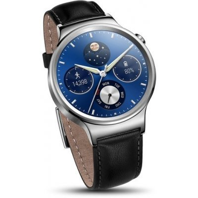 Умные часы Huawei Watch Classic Silver кожаный ремешок (MERCURY-G00 leather)Умные часы Huawei<br>Уведомления (вызовы, СМС, e-mail)<br>    Изменение дизайна циферблата<br>    Голосовое управление<br>    Мониторинг физической активности<br>    Сенсорный экран 1.4<br>    Разрешение экрана: 400x400<br>    Операционная система: Android Wear<br>    Встроенная память: 4 ГБ<br>    Оперативная память: 512 МБ<br>    Нержавею ...<br>