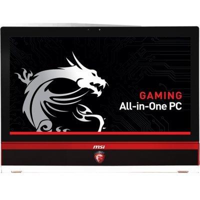 Моноблок MSI AG270 2QC-216RU (9S6-AF1811-216)Моноблоки MSI<br>Intel Core i5-4210H (2.9GHz)/6G/1000GB/NV GTX970M,GDDR5 3GB/WiFi/BT4/DVD-RW/27/Cam/Win 10 Home, RU/Non-Touch/KB+M/Черный<br>
