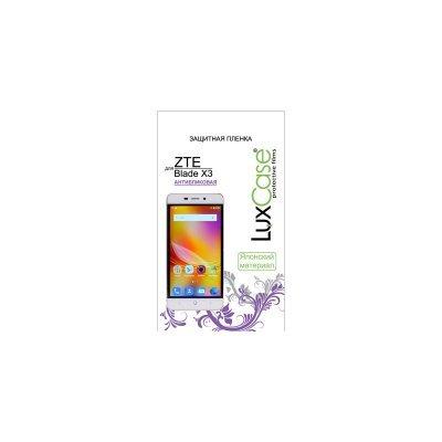 Пленка защитная для смартфонов LuxCase для ZTE BLADE X3 (Антибликовая) (51428)
