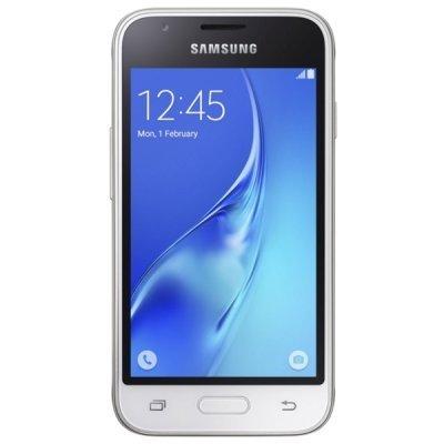 Смартфон Samsung Galaxy J1 Mini SM-J105H белый (SM-J105HZWDSER)Смартфоны Samsung<br><br>