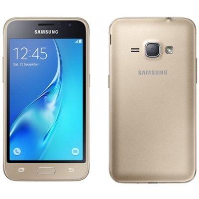 Смартфон Galaxy J1 (2016) SM-J120F/DS 8Gb золотистый (SM-J120FZDDSER) цена и фото