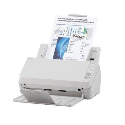Сканер Fujitsu SP-1120 (PA03708-B001)Сканеры Fujitsu<br>Fujitsu scanner SP-1120 (протяжный, CIS, A4, 600 dpi, до 20 стр./40 изображений в мин, ADF 50 л., Duplex, до 3000 стр./день, 1 год гарантии)<br>