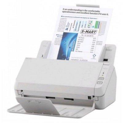 Сканер Fujitsu SP-1125 (PA03708-B011)Сканеры Fujitsu<br>Fujitsu scanner SP-1125 (протяжный, CIS, A4, 600 dpi, до 25 стр./50 изображений в мин, ADF 50 л., Duplex, до 3000 стр./день, 1 год гарантии)<br>