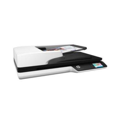 Сканер HP ScanJet Pro 4500 fn1 (L2749A)Сканеры HP<br>HP ScanJet Pro 4500 fn1 Network Scanner (CIS, A4, 1200dpi, 24bit, ADF 50 sheets, Duplex, 30 ppm/60 ipm, USB 3.0, GigEth.,1y warr, repl. SJ N6350 (L2703A))<br>