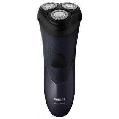 Электрическая бритва Philips S1100 (S1100/04)Электрические бритвы Philips<br>электробритва<br>роторная система бритья<br>сухое бритье<br>работает от сети<br>3 бритвенные головки<br>плавающие головки<br>подвижный бритвенный блок<br>