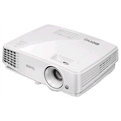 Проектор BenQ MX570 (9H.JCS77.14E)Проекторы BenQ<br>DLP; XGA; 3200 AL; High Contrast Ratio 13,000:1; 10000 hrs lamp life; 1.3X zoom; T/R 1.51-1.97; SmartEco; 3D via HDMI; 1.9kg; 10W speaker; Noise level: 28dB; HDMI 1.4a; Lan control<br>