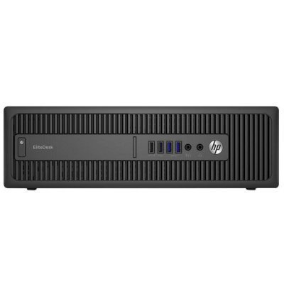 Настольный ПК HP EliteDesk 800 G2 SFF (V6K79ES) (V6K79ES)Настольные ПК HP<br>Core i5-6500,4GB DDR4-2133 (1x4GB) RAM,1TB 7200 RPM,Solenoid Lock,Slim SuperMulti DVDRW,USB Slim kbd,USBmouse,FreeDOS,3-3-3 Wty<br>