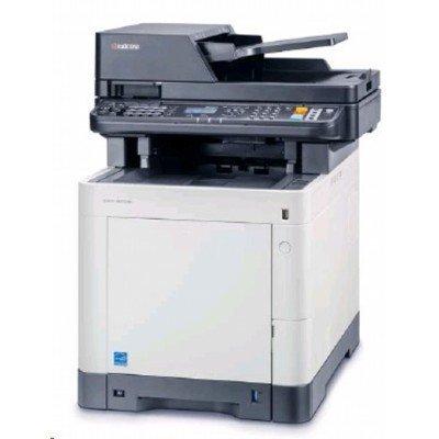 Цветной лазерный МФУ Kyocera M6030CDN (1102NV3NL0)Цветные лазерные МФУ Kyocera<br>Kyocera M6030CDN (P/C/S, А4, 30 ppm, цветной, 600 dpi, 1024 Mb, USB 2.0, Network, дуплекс, автоподатчик, пусковой комплект)<br>