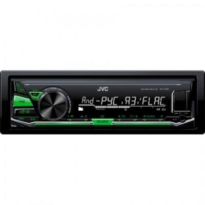 Автомагнитола JVC KD-X130 (KD-X130)Автомагнитолы JVC<br>Автомагнитола JVC KD-X130 1DIN 4x50Вт<br>
