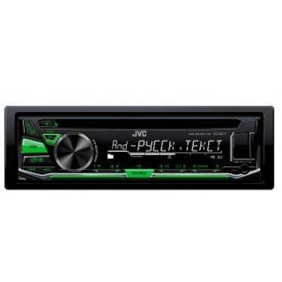 Автомагнитола JVC KD-R477 (KD-R477)Автомагнитолы JVC<br>Автомагнитола CD JVC KD-R477 1DIN 4x50Вт<br>