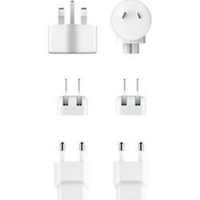 Зарядное устройство для планшетов Apple World Travel Adapter Kit (MD837ZM/A) (MD837ZM/A) зарядное устройство apple 12w usb power adapter md836zm a