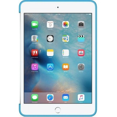Чехол для планшета Apple iPad mini 4 Silicone Case голубой (MLD32ZM/A) apple apple silicone case