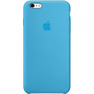 Чехол для смартфона Apple iPhone 6 Plus Silicone Case голубой (MGRH2ZM/A)Чехлы для смартфонов Apple<br>iPhone 6 Plus Silicone Case Blue<br>