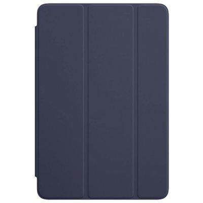 Чехол для планшета Apple iPad mini 4 Smart Cover темно-синий (MKLX2ZM/A)Чехлы для планшетов Apple<br>iPad mini 4 Smart Cover - Midnight Blue<br>