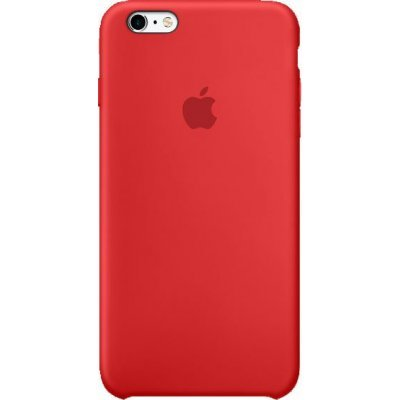 Чехол для планшета Apple iPhone 6s Plus Silicone Case красный (MKXM2ZM/A) аксессуар чехол apple iphone x silicone case red mqt52zm a