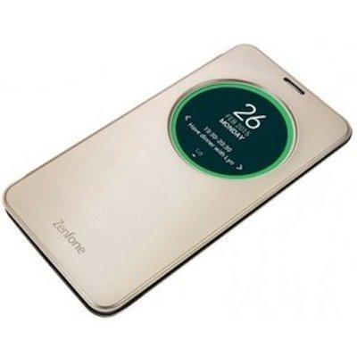Чехол для смартфона ASUS для ZenFone 2 Laser ZE600/601KL View Flip Cover золотистый (90AC00W0-BCV002) (90AC00W0-BCV002) чехол книжка asus view flip для zenfone 3 zc551kl