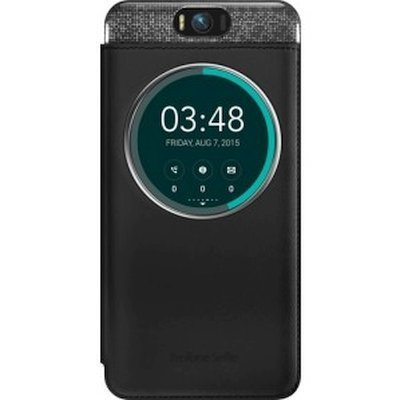 Чехол для смартфона ASUS для ZenFone Selfie ZD551KL MYVIEW COVER DELUXE черный (90AC00X0-BCV001) (90AC00X0-BCV001)