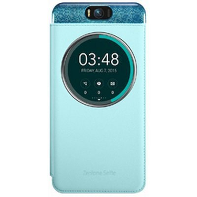 Чехол для смартфона ASUS для ZenFone Selfie ZD551KL MYVIEW COVER DELUXE голубой (90AC00X0-BCV004) (90AC00X0-BCV004) битоков арт блок z 551