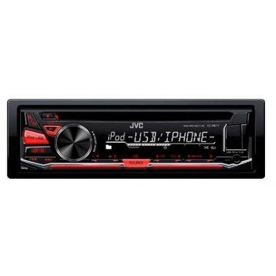 Автомагнитола JVC KD-R671 (KD-R671)Автомагнитолы JVC<br>Автомагнитола CD JVC KD-R671 1DIN 4x50Вт<br>