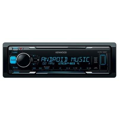 Автомагнитола Kenwood KMM-122Y (KMM-122Y)Автомагнитолы Kenwood<br>автомагнитола 1 DIN<br>макс. мощность 4 x 50 Вт<br>воспроизведение с USB<br>аудиовход на передней панели<br>радиоприемник с RDS<br>
