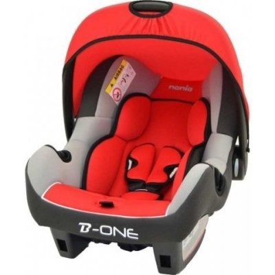 Детское автокресло Nania Beone SP LX (agora carmin) от 0 до 13 кг (0/0+) красный/серый (493129)Детские автокресла Nania<br>Автокресло детское Nania Beone SP LX (agora carmin) от 0 до 13 кг (0/0+) красный/серый<br>