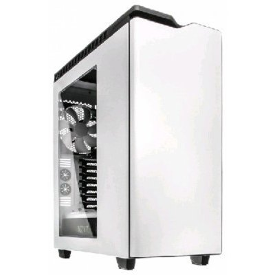 Корпус системного блока NZXT H440 White (CA-H442W-W1) корпус nzxt phantom 630 черный w o psu atx 2xusb2 0 2xusb3 0 audio cardreader front door bott psu