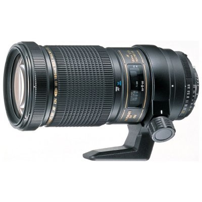 Объектив для фотоаппарата Tamron SP AF 180mm F/3.5 Di LD Macro, Nikon (B01N)Объективы для фотоаппарата Tamron <br>макрообъектив с постоянным ФР<br>крепление Nikon F, без встроенного мотора<br>автоматическая фокусировка<br>размеры (DхL): 84.8x165.7 мм<br>вес: 920 г<br>