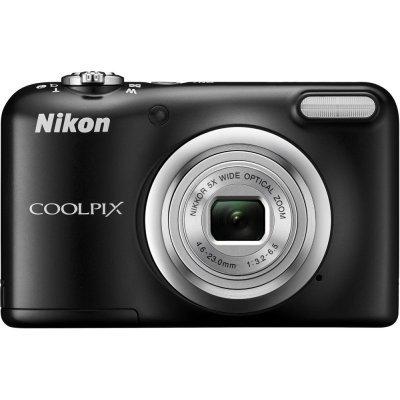 Цифровая фотокамера Nikon Coolpix A10 черный (VNA981E1) профессиональная цифровая slr камера nikon d3200 18 55mmvr