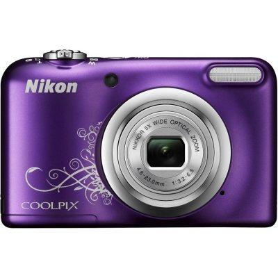 Цифровая фотокамера Nikon Coolpix A10 фиолетовый (VNA983E1) профессиональная цифровая slr камера nikon d3200 18 55mmvr