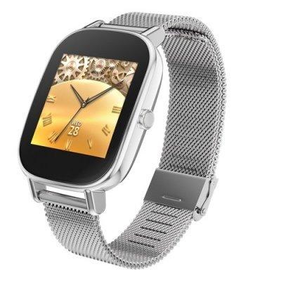 Умные часы ASUS ZenWatch 2 WI502Q серебристый (90NZ0033-M00460)