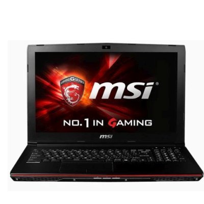 Ноутбук MSI GP62 2QE-421RU (9S7-16J312-421)Ноутбуки MSI<br>MSI GP62 2QE-421RU Leopard Pro i7-5700HQ 8Gb 1Tb nV GTX950M 2Gb 15,6 FHD DVD(DL) BT Cam 4400мАч Win10 Черный<br>