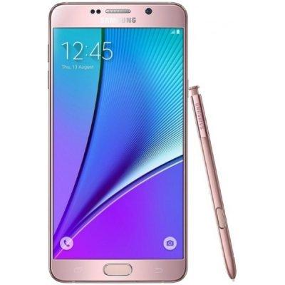 Смартфон Samsung Galaxy Note 5 64Gb розовый (SM-N920CEDESER)Смартфоны Samsung<br>Смартфон Samsung Galaxy Note 5 SM-N920C 5,7(2560х1440) LTE Cam(16/5) Exynos 7420 2,1ГГц(4)+1,5ГГц(4) (4/64)Гб A5.1 3000мАч Розовый SM-N920CEDESER<br>