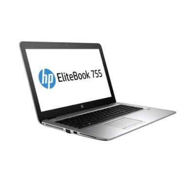 Ноутбук HP EliteBook 755 G3 (T4H98EA) (T4H98EA)Ноутбуки HP<br>UMA PRO A12-8800B 755 / 15.6 FHD SVA AG / 8GB 1D / 512GB TLC / W7p64W10p / 3yw / Webcam / kbd DP Backlit / Intel AC 2x2+BT / FPR / NFC<br>