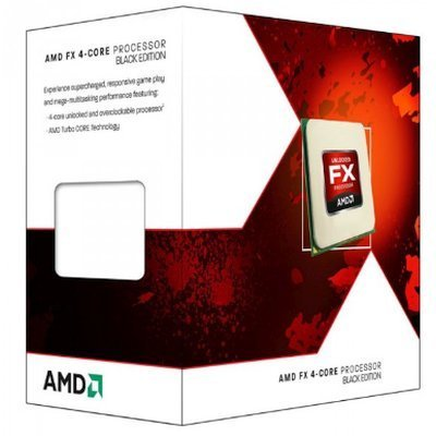 Процессор AMD FX-4320 Vishera (AM3+, L3 4096Kb) BOX (FD4320WMHKBOX)Процессоры AMD <br>Процессор AMD FX 4320 AM3+ (FD4320WMHKBOX) (4GHz/5200MHz) Box<br>
