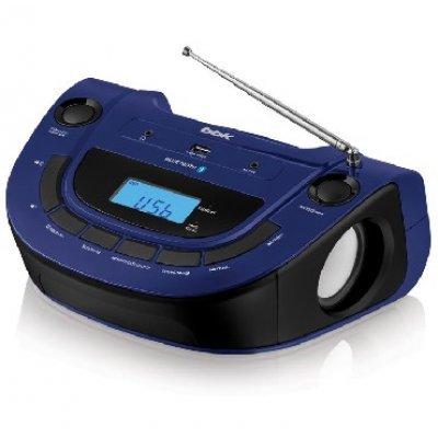 Аудиомагнитола BBK BS07BT синий (BS07BT синий)