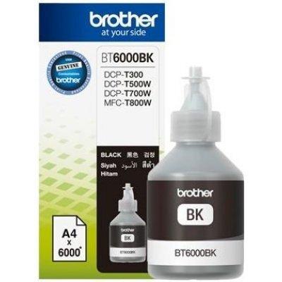 Картридж для струйных аппаратов Brother BT6000BK черный для DCP-T300/T500W/T700W (6000стр.) (BT6000BK)Картриджи для струйных аппаратов Brother<br>Картридж струйный Brother BT6000BK черный для Brother DCP-T300/T500W/T700W (6000стр.)<br>