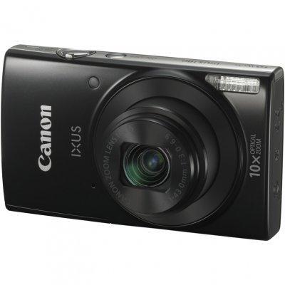 Цифровая фотокамера Canon IXUS 180 черный (1085C001)