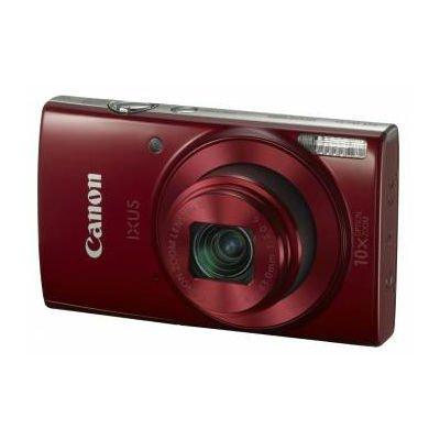 Цифровая фотокамера Canon IXUS 180 красный (1088C001)Цифровые фотокамеры Canon<br>Фотоаппарат Canon IXUS 180 красный 20Mpix Zoom10x 2.7 720p SDXC CCD 1x2.3 IS opt 1minF 0.8fr/s 25fr/s/WiFi/NB-11LH<br>
