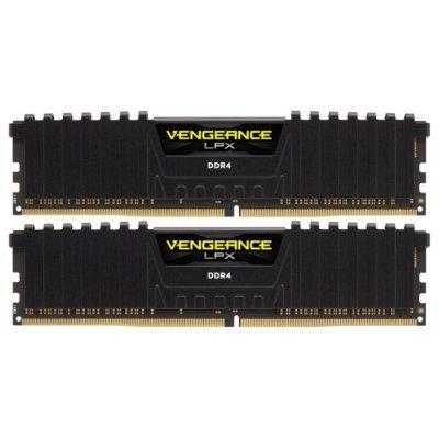 Модуль оперативной памяти ПК Corsair CMK16GX4M2A2800C16 16Gb DDR4 (CMK16GX4M2A2800C16)Модули оперативной памяти ПК Corsair<br>Память DDR4 2x8Gb 2400MHz Corsair CMK16GX4M2A2800C16 RTL PC4-21300 CL16 DIMM 288-pin 1.2В<br>