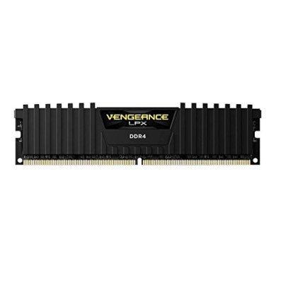 Модуль оперативной памяти ПК Corsair CMK16GX4M1A2400C14 16Gb DDR4 (CMK16GX4M1A2400C14)Модули оперативной памяти ПК Corsair<br>Память DDR4 16Gb 2400MHz Corsair CMK16GX4M1A2400C14 RTL PC4-19200 CL14 DIMM 288-pin 1.2В<br>