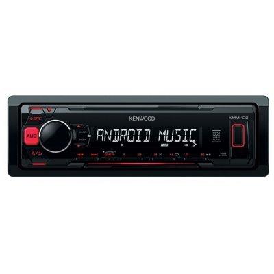 Автомагнитола Kenwood KMM-102RY (KMM-102RY)Автомагнитолы Kenwood<br>автомагнитола 1 DIN<br>макс. мощность 4 x 50 Вт<br>воспроизведение с USB<br>аудиовход на передней панели<br>радиоприемник с RDS<br>