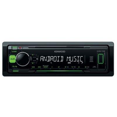 Автомагнитола Kenwood KMM-102GY (KMM-102GY)Автомагнитолы Kenwood<br>автомагнитола 1 DIN<br>макс. мощность 4 x 50 Вт<br>воспроизведение с USB<br>аудиовход на передней панели<br>радиоприемник с RDS<br>