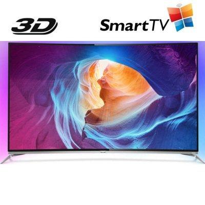 ЖК телевизор Philips 65 65PUS8700/60 (65PUS8700/60)ЖК телевизоры Philips<br>Телевизор LED Philips 65 65PUS8700/60 черный/серебристый/Ultra HD/1400Hz/DVB-T/DVB-T2/DVB-C/3D/USB/WiFi/Smart TV (RUS)<br>